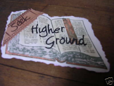 HIGHER GROUND BOOKS and FILMSTRIPS