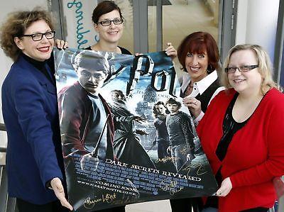 Harry Potter Poster mit Originalautogrammen