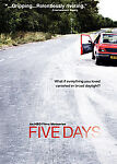 Five Days (DVD, 2008, 2-Disc Set; O-Sleeve)