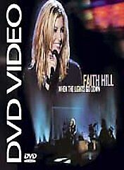 Faith Hill When The Lights Go Down Dvd 2003 Jewel Case For Sale Online Ebay