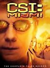 CSI: Miami - The Complete Third Season (DVD, 2005, 7-Disc Set, Checkpoint)