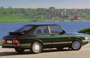 Saab 900 Turbo 16 (1991) 3D Combi Coupe ...