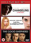 Changeling / Girl, Interrupted / The Good Shepherd (DVD, 2009, 3-Disc Set, Box Set)
