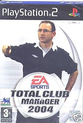 EA Sports - Total Club Manager 2004 Sony PlayStation 2