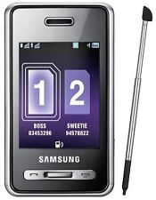 Téléphones mobiles noirs en double SIM, pas de offre groupée