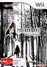 Jeux vidéo français Resident Evil pour Nintendo Wii