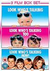 Look Who's Talking / Look Who's Talking Too / Look Who's Talking Now (DVD, 2009, 3-Disc Set)