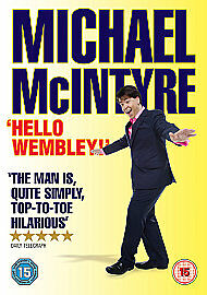 Michael-McIntyre-Live-2009-Hello-Wembley-DVD-2009-Good-Condition