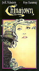 Chinatown-VHS-Jack-Nicholson-Fay-Dunaway-Paramount-1986-Special-Collector-039-s-Edit