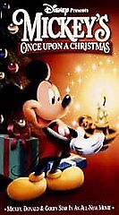 mickeys once upon a christmas vhs 1999 ebay - Mickeys Christmas