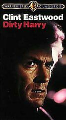 NEW-DIRTY-HARRY-Clint-Eastwoo-VHS-FREE-SHIP-1971-Crime-Thriller-VHS-SEALED