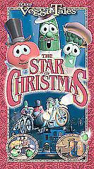 Veggietales The Star Of Christmas Vhs VeggieTales Classics T...