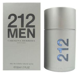 3c7106bdcc Carolina Herrera 212 1.7oz Men's Eau de Toilette for sale online | eBay