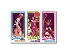 1980 - 1981 Topps Larry Bird/ Julius Erving/ Magic Johnson #6 Basketball Card