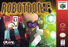 Nintendo Video Games Robotron 64
