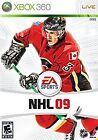 NHL 09 (Microsoft Xbox 360, 2008) - European Version