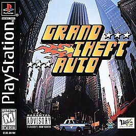 Grand Theft Auto (Sony PlayStation 1, 1998) for sale online | eBay