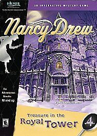 Nancy-Drew-TREASURE-IN-THE-ROYAL-TOWER-PC-Game-Adventure-NEW