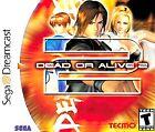 Dead or Alive 2 Sega Dreamcast Video Games