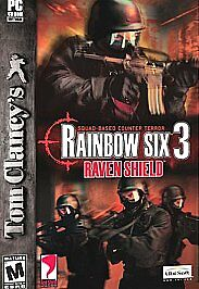 WOW !!  Tom Clancy's Rainbow Six 3: Raven Shield (PC, 2003) VALUE ONLINE $11.98