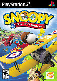 Snoopy-vs-the-Red-Baron-Sony-PlayStation-2-2006-BRAND-NEW-Factory-Sealed