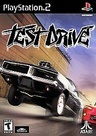 PLAYSTATION 2 TEST DRIVE  NEW  RACING GAME BLACK LABEL