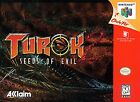 Turok 2: Seeds of Evil (Nintendo 64, 1998) - European Version