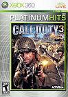 Call of Duty 3 -- Platinum Hits (Microsoft Xbox 360, 2008)