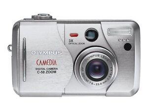 olympus camedia c 50 zoom 5 0mp digital camera silver ebay rh ebay com C- 2040 Zoom Olympus Camedia 2020