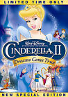 Cinderella II: Dreams Come True (DVD, 2007, Special Edition)