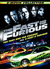 The Fast and the Furious 2 Movie Collection (DVD, 2008, 2-Disc Set)