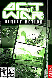 Act of War: Direct Action (PC, 2005)DVD- ROM Edition