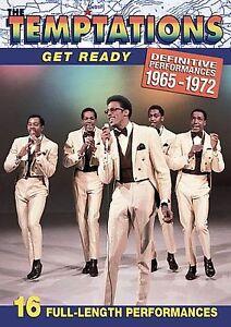Temptations - Get Ready: Definitive Performances 1965-1972 (DVD ...