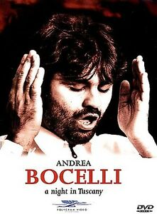 Andrea Bocelli A Night in Tuscany DVD1998 Classical Musical Performance in Pisa