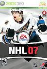 Microsoft Xbox 360 NHL 07 Video Games