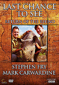 Stephen-Fry-Last-Chance-to-See-a-Rhino-DVD-IN-STOCK-Brand-New-Sealed