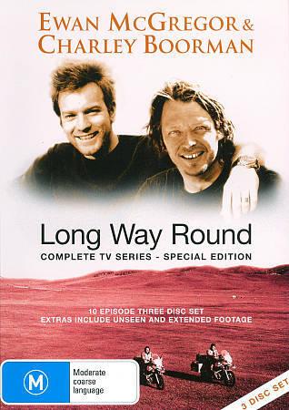 Ewan McGregor & Charley Boorman: Long Way Round - Special Edition, Good DVD, Ali