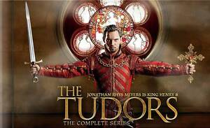 The Tudors: The Complete Series (DVD, 2010, 15-Disc Set) SEALED, Free Ship!