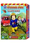 Fireman Sam - Triple Pack (DVD, 2008, 3-Disc Set, Box Set)