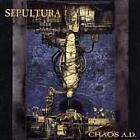 Chaos A.D. by Sepultura (Cassette, Oct-1993, Roadrunner)