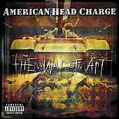 American-Head-Charge-War-of-Art-DIGIPAK-CD-2002-Near-Mint-W-POSTER-AHC