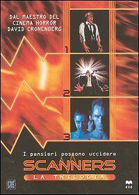Scanners La Trilogia Cofanetto 3 DVD Nuovo Special Edition - Scanner 1 2 3 BOX