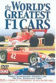 The World's Greatest F1 Cars (DVD, 2001)