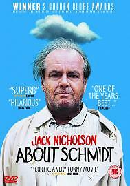 About Schmidt DVD 2003 Good DVD Jack NicholsonHope Davis Alexander Payne - Bilston, United Kingdom - About Schmidt DVD 2003 Good DVD Jack NicholsonHope Davis Alexander Payne - Bilston, United Kingdom