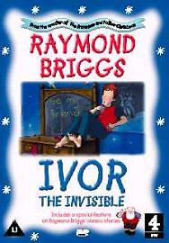 IVOR THE INVISIBLE by Raymond briggs - DVD NEW R2