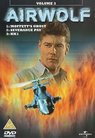Airwolf: Volume 3 - Moffett's Ghost/Severance Pay/Hx1 [DVD], Good DVD, Ismael 'E
