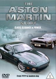 The Aston Martin Story (DVD, 2004) ultimate history of