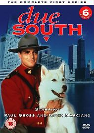 DUE SOUTH COMPLETE SERIES 1 DVD All Episodes First Season Original R2 UK Release