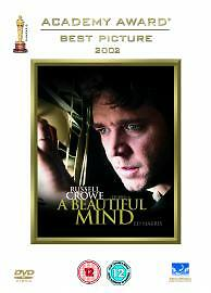 A Beautiful Mind DVD Good DVD Russell Crowe Ed Harris Jennifer Connelly P - Bilston, United Kingdom - Returns accepted Most purchases from business sellers are protected by the Consumer Contract Regulations 2013 which give you the right to cancel the purchase within 14 days after the day you receive the item. Find out more about  - Bilston, United Kingdom