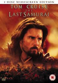THE LAST SAMURAI starring TOM CRUISE         DVD - <span itemprop=availableAtOrFrom>Derby, United Kingdom</span> - THE LAST SAMURAI starring TOM CRUISE         DVD - Derby, United Kingdom